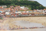Sky divers  landing on Scarborough beach on Armed Forces Day