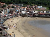 Hundreds of people on Scarborough beach
