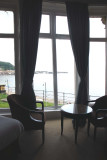 View from The Grand Hotel Scarborough where I stayed