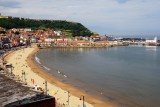 View from The Grands Hotel Balcony in Scarborough