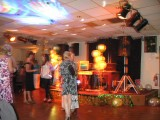 Dancing at Margarets party