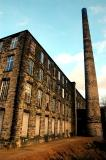 Woodend Mill in Mossley Lancashire