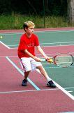 Fabrice Playing Tennis.