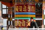 large prayer wheel