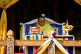 The Je Khenpo-highest religious official in Bhutan