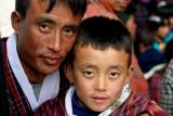 Dad and son-Punakha, Bhutan