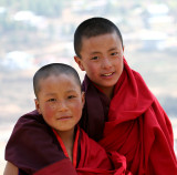 young monks-Bhutan