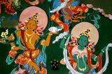 monastery wall painting-Bhutan