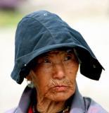 elderly woman-Bhutan