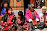 festival audience-Bhutan