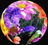 Ev's 80th Flowers ( Spherical)