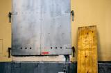 Door and board
