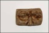 The Eyes on the Ceramic Mask