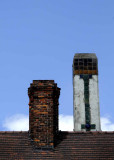 Chimneys Over Pewabic and 8 Mile Road