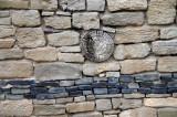 Rock Wall at the Aztec Ruins NM