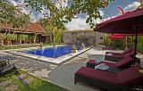Front pool & breakfast pavilion