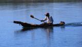 DSC_2059 Fisherman in bark canoe. Chcamba Dam Mozambique.JPG