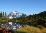 05 Mt Shuksan, Picture Lake