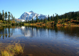18 Mt Shuksan, Picture Lake