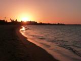 Sunset at Wyndham beach
