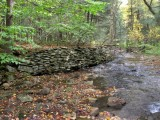 CCC Stone Wall Along Creek