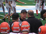 Coach gets a talking to