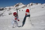 Fazendo Bunecos de neve
