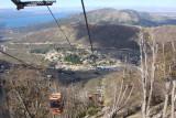 Descendo o Cerro catedral