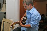 sammy on guitar