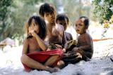 Kids (shot in 1993, so now young adults) on Gili Trawangan