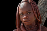 Himba people from Namibia
