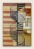 Escalier du manoir de Criqueboeuf