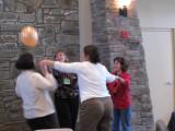 Balloon game at ESOL retreat