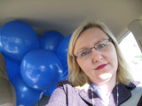 Me in my clown car. Awesome!
