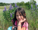 Erin in the Wildflowers in Homer.jpg