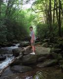 Danny on the Rocks in the Creek.jpg