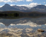 Reflection on St Mary Lake.jpg