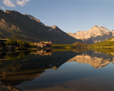 Many Glacier Hotel Reflection.jpg