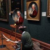 Making a Copy - The National Portrait Gallery