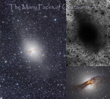 The many faces of Centaurus A