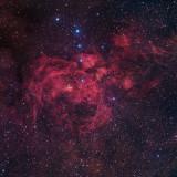NGC 6357 The Lobster Nebula Full Frame 2020 X 2020 (3.6meg)