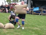6 X 90kg sack load in New Zealand 2004
