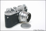 FED-2 camera with Industar-26M lens