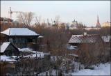 View of Fedoseevskaya street and Kazan Kremlin