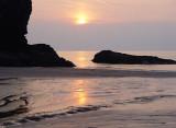 Llangrannog, Summer Sunset