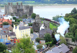 Duchess of Sutherland at Conwy Castle