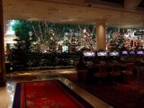 Casino and Christmas Decorations at the Wynn