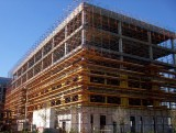 Scaffolding for Our New Hospital Wing