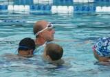 Rowdy Gaines Swim Clinic Today