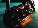 Motorcycle in the Parking Garage Tonight